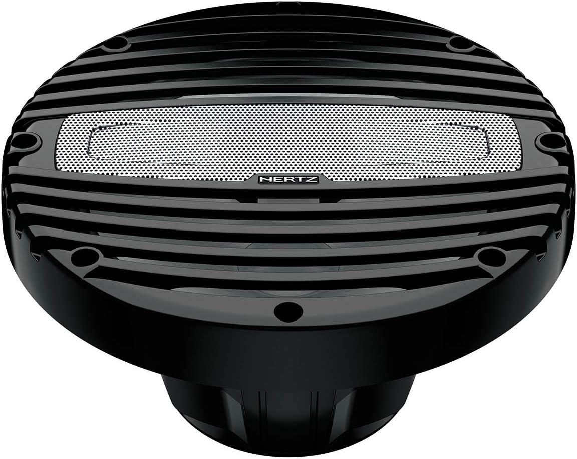 Hertz Marine HMX 6.5-C 6.5 Coax Speakers w//Black Grilles