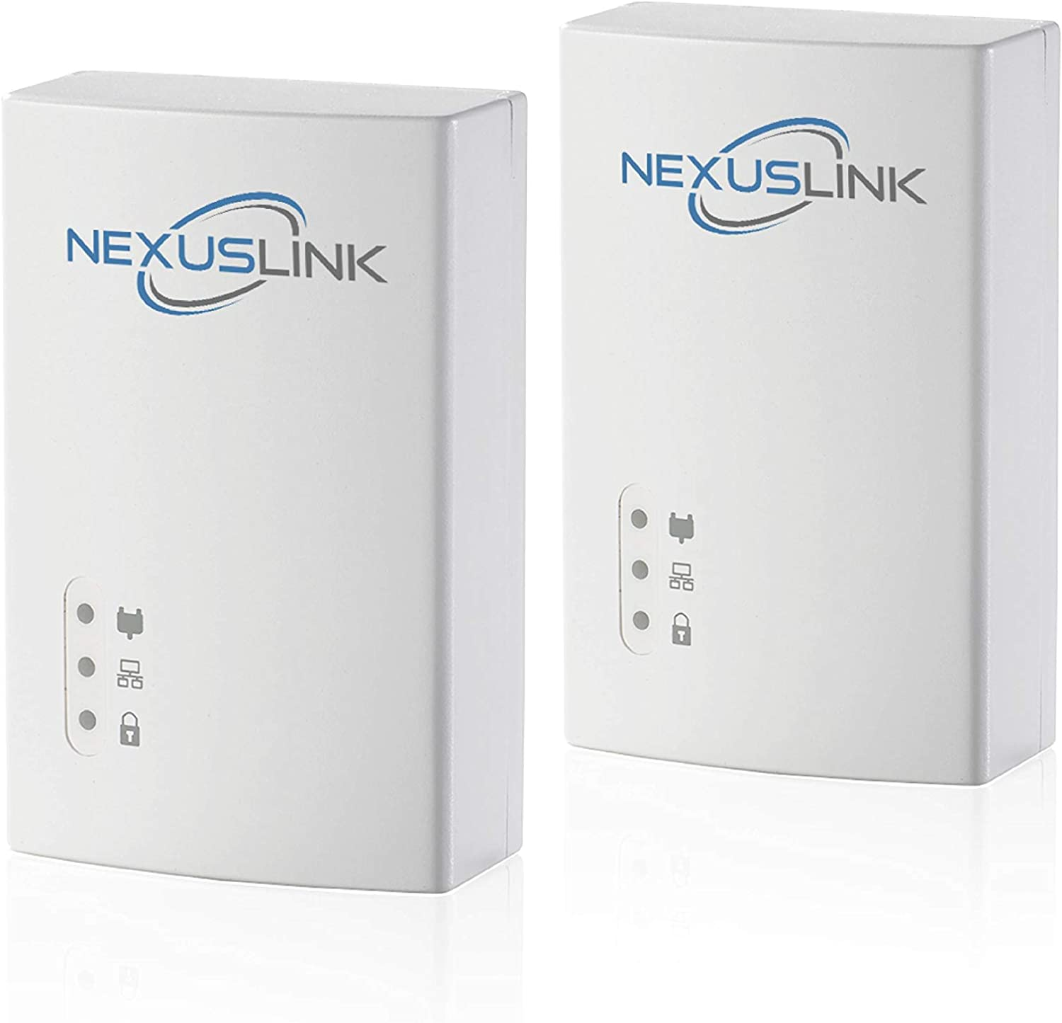 NexusLink G.hn Powerline Ethernet Adapter | 1200Mbps | Gigabit Port, Power Saving, Home Network Expander with Stable Ethernet Connection for Online Gaming, Video Streaming | 2-Unit Kit (GPL-1200-KIT)