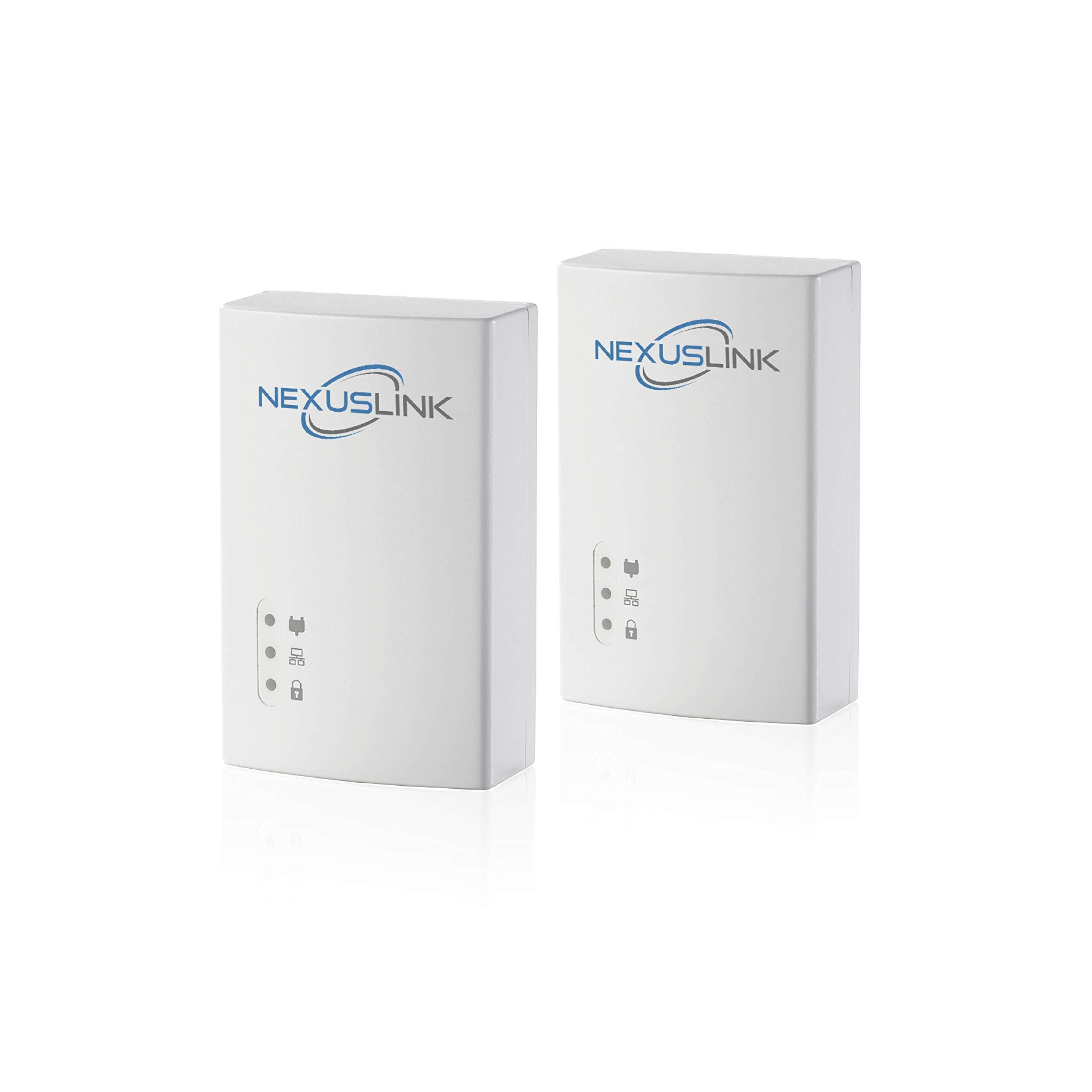 NexusLink Powerline G.hn Powerline Adapter | 1200Mbps | 2-Unit Kit (GPL-1200-KIT) by NEXUSLINK