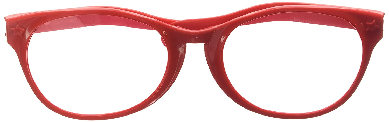 JUMBO GLASSES RED