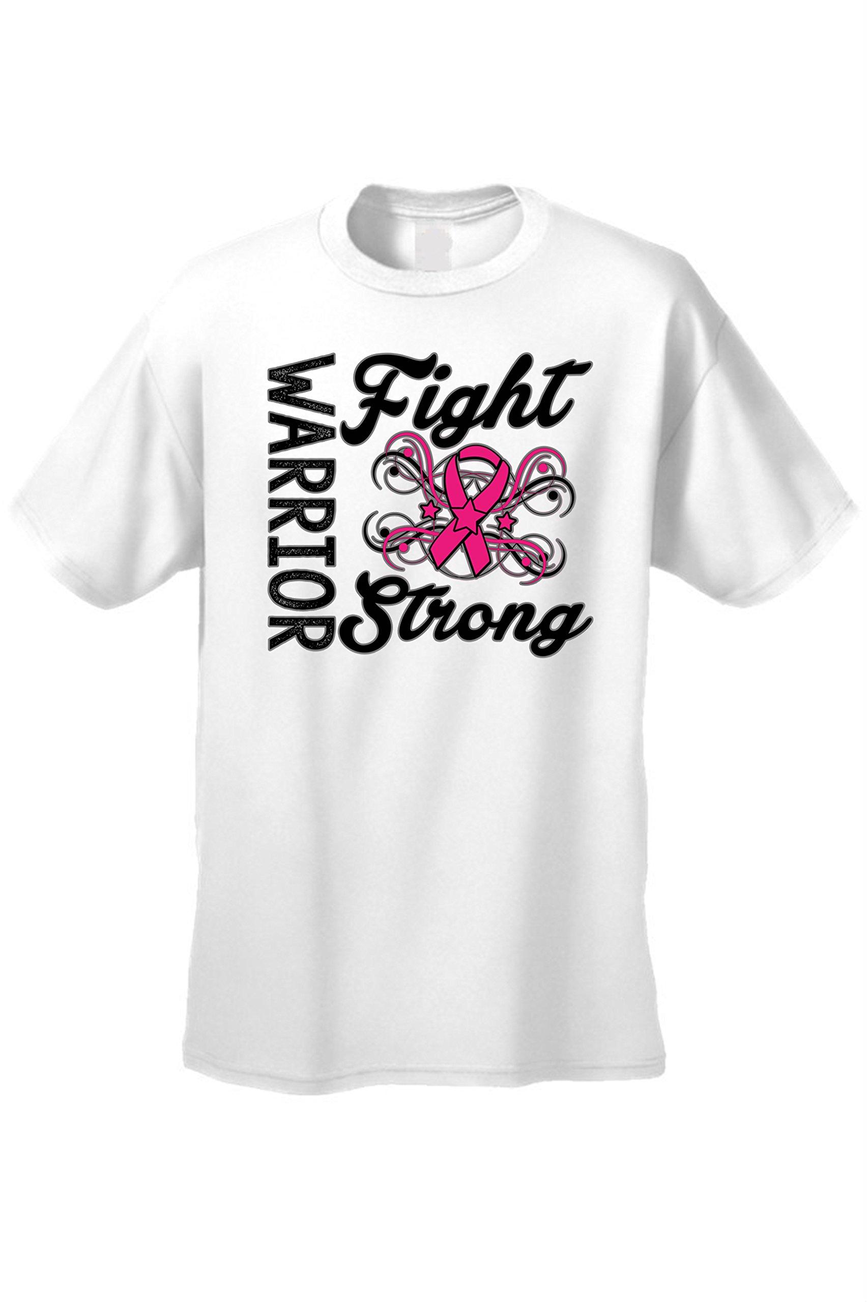 Unisex Warriors Fight Strong Breast Cancer Awareness T Shirt