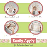 Elodie Essentials Scented Drawer Liners for Dresser and Closets 6 Freshening Liner Paper Sheets