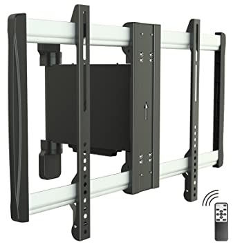 RICOO Motorisierte TV Wandhalterung Schwenkbar LCD Wandhalter SE2564  Elektrische Fernseher Halter Fernsehhalterung Universal VESA 200x200 400x400