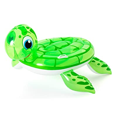 Bestway Inflatable Sea Turtle Pool Float, Ride-On Toy: Toys & Games