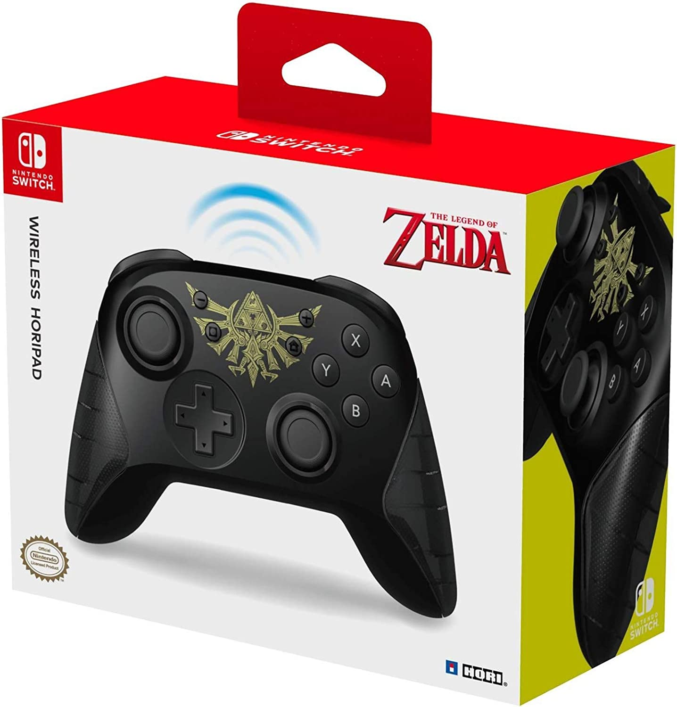 Hori - Horipad Inalámbrico Zelda (Nintendo Switch): Amazon.es: Videojuegos