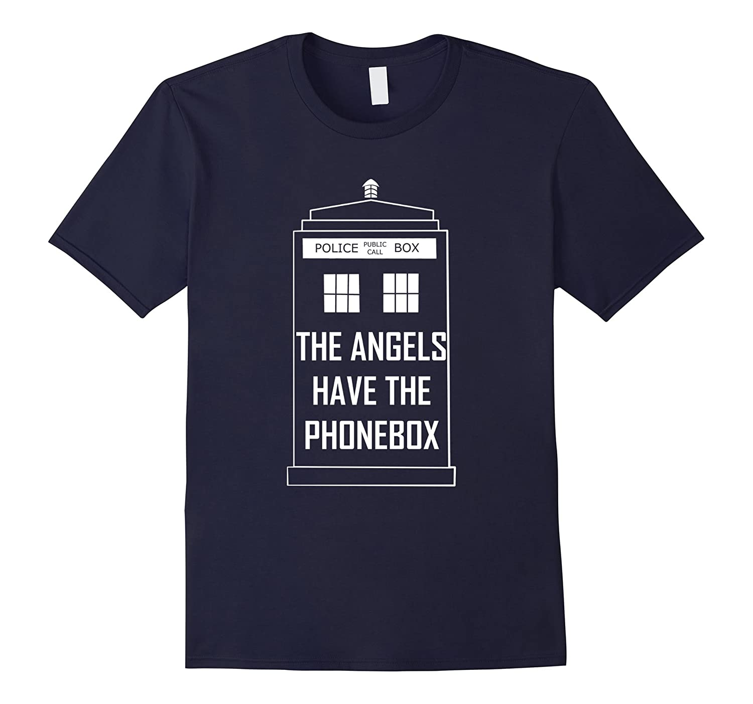 ''The angels have the phonebox'' T-Shirt-Art