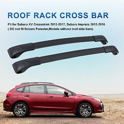 Techo accesorio de corssbar Fit 2012 - 2016 Subaru Impreza y ...
