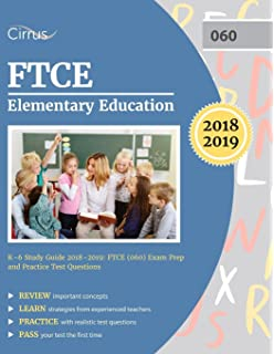 Ftce general knowledge test study guide 2018 2019 exam prep book ftce elementary education k 6 study guide 2018 2019 ftce 060 fandeluxe Choice Image