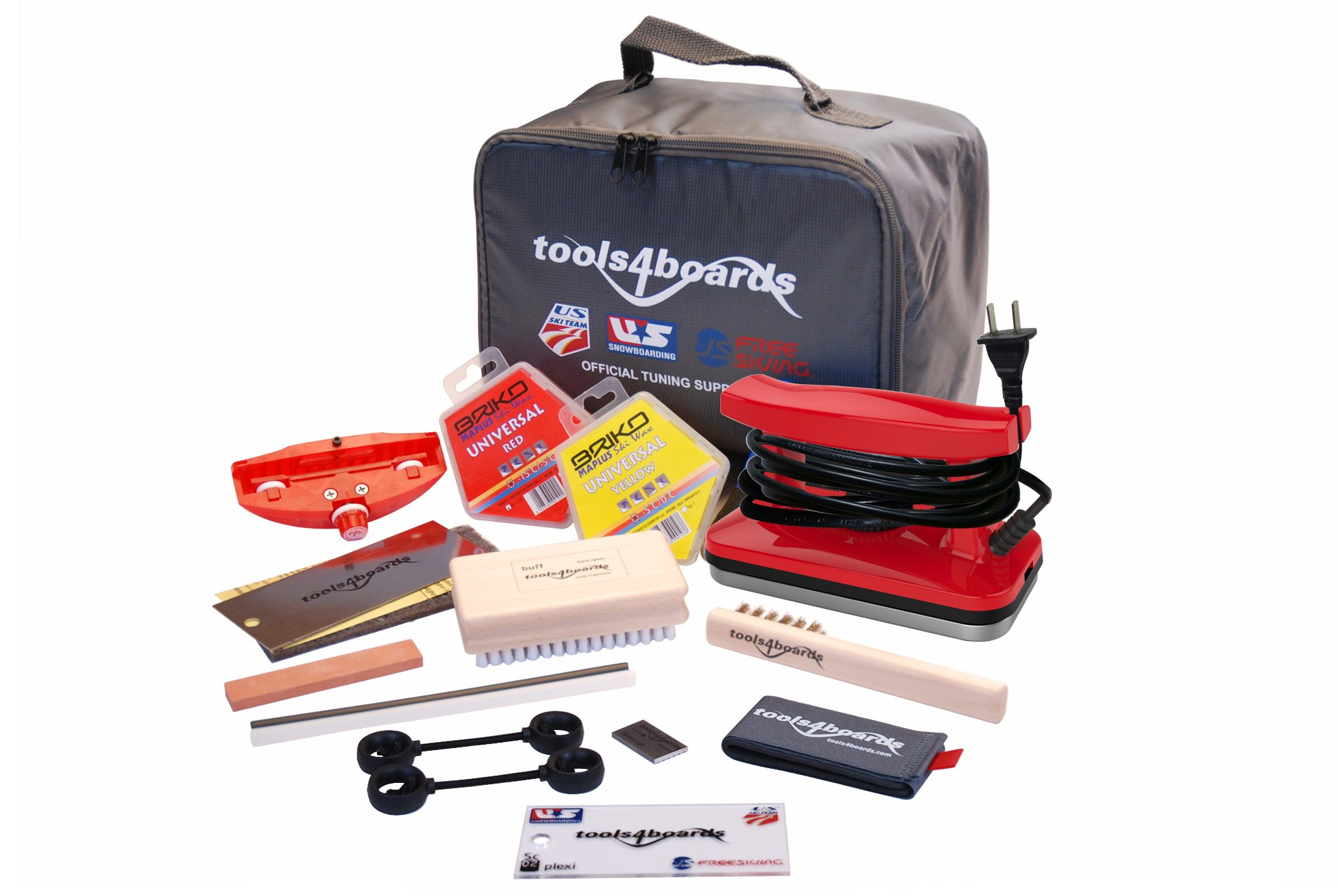 Tools4Boards GLOBAL Ski SuperStation Tuning Kit