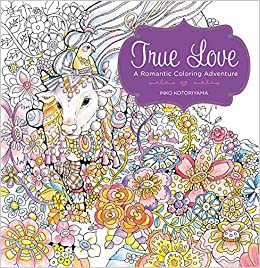 Amazon True Love A Romantic Coloring Adventure 9780062471130 Inko Kotoriyama Books