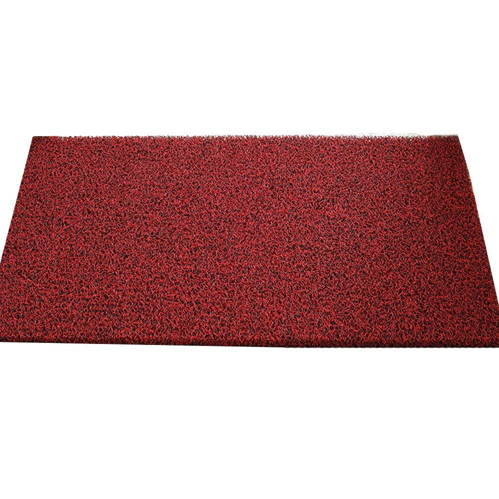 D 40X60cm JIAJUAN Doormat Non-Slip Front Entrance Indoor Outdoor Floor Mat Dirt Trapper Mats, 14mm, 4 colors, Multiple Sizes (color   B, Size   100x120cm)
