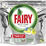 Fairy Platinum All In One Dishwasher Tablets Lemon 100 Pack