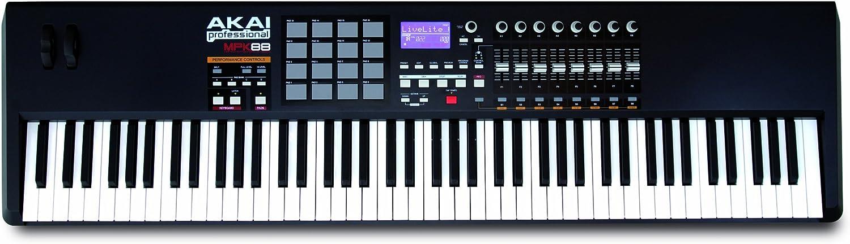 Akai MPK88 - Mpk-88 teclado controlador midi usb 88 notas 16 pads