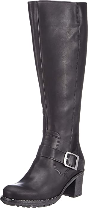 Jenny Damen Madison st Hohe Stiefel: : Schuhe