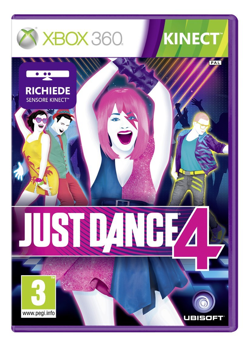 Just Dance 4 [Importación italiana]: Amazon.es: Videojuegos