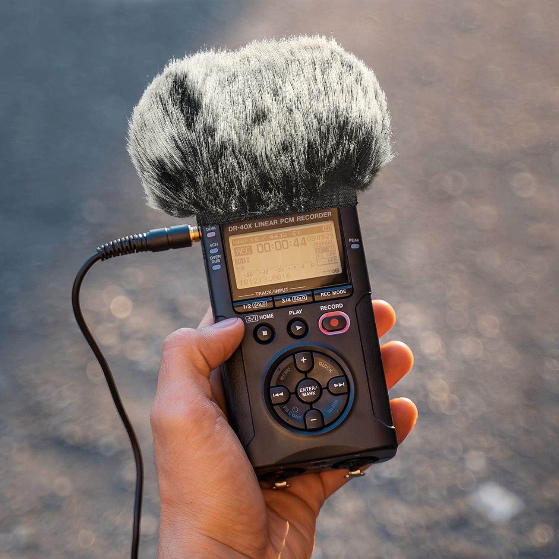 DR05X Innen draussen mikrofon popschutz von YOUSHARES 2 PACK DR05 Windschutz Muff und schaumstoff f/ür Tascam DR-05 DR-05X mikrofon Recorders