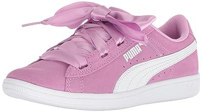 fe720298b468 PUMA Vikky Ribbon Jr Sneaker Orchid White