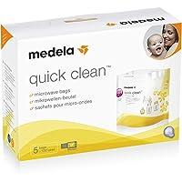 Medela Quick Clean Micro-Steam Sterilisation Bags x5