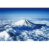 1000ピース ジグソーパズル 世界遺産 富士山~空撮~(49x72cm)