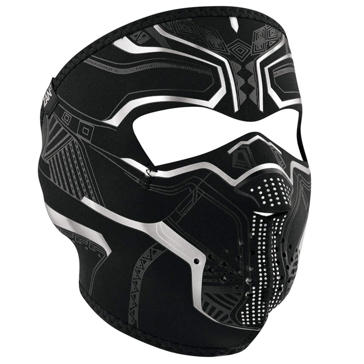 Motorcycle Neoprene Full Face Mask Skull Reversible Halloween Biker Face Mask