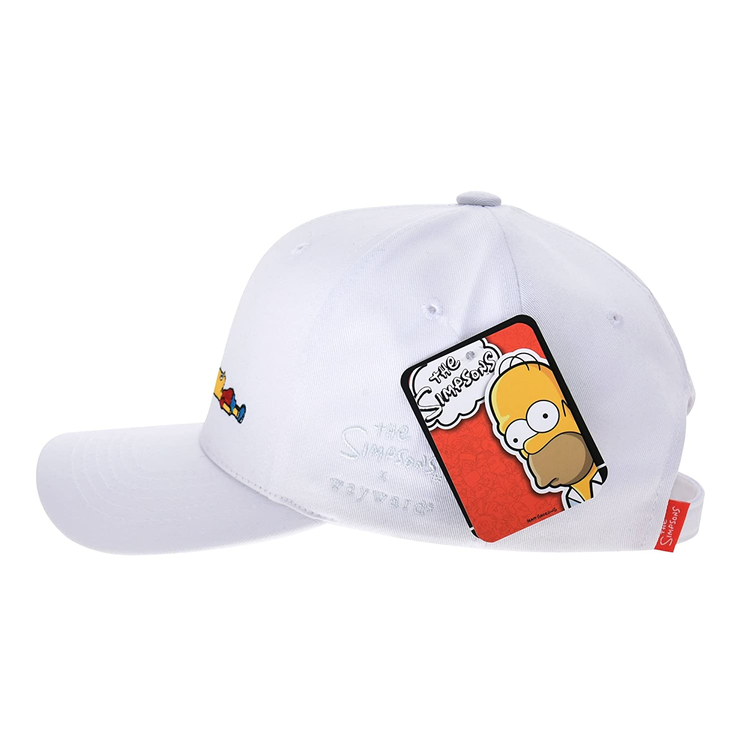 WITHMOONS The Simpsons Ball Cap Bart Simpson Lying Down Comics HL1716  (Black) at Amazon Men s Clothing store  425af52dc658