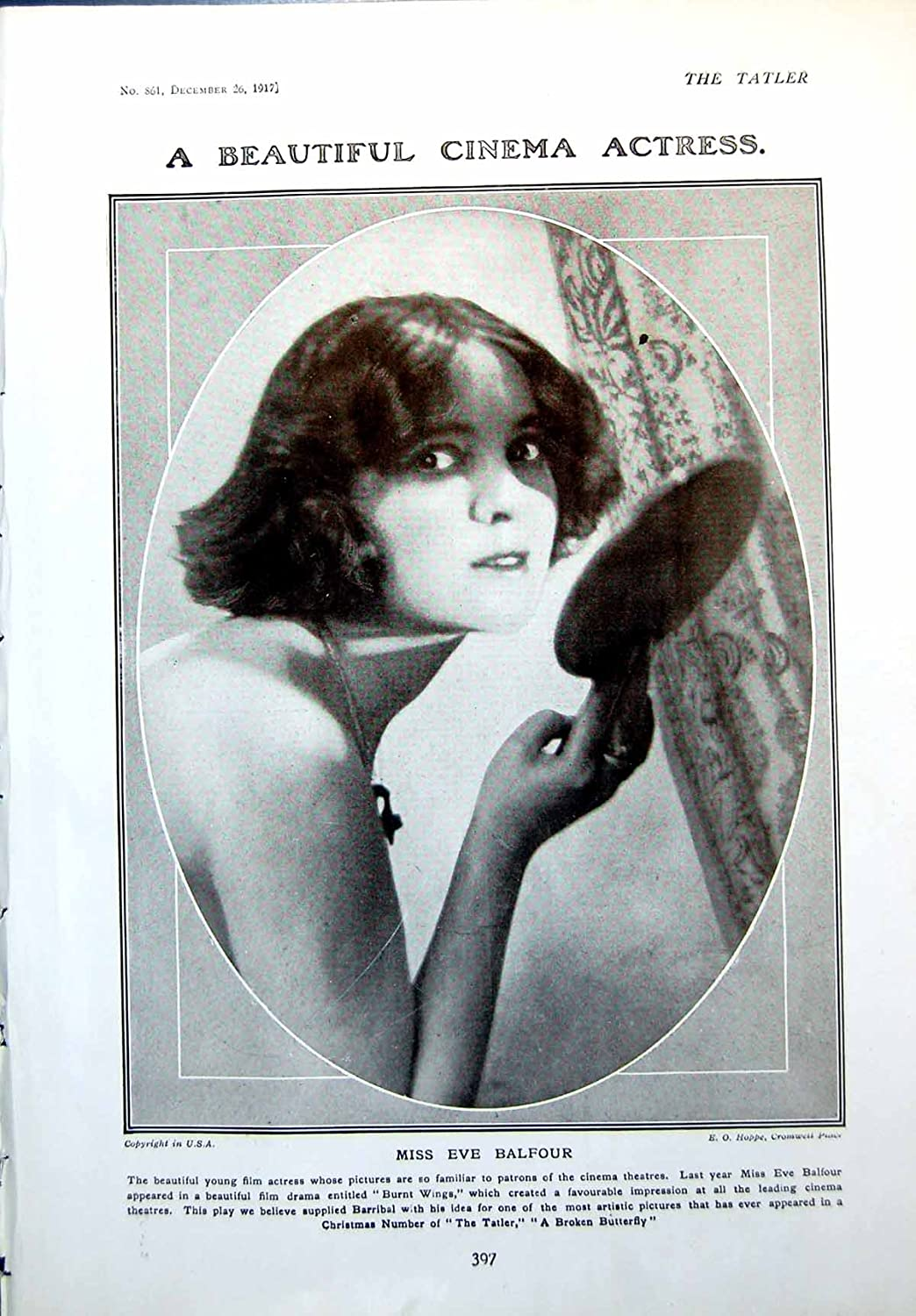 Eve Balfour (actress)