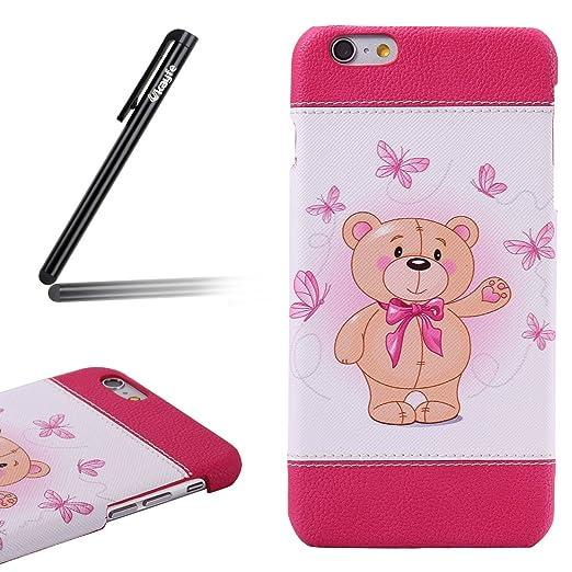 2 opinioni per Custodia iPhone 6/6S plus 5.5,iPhone 6/6S plus 5.5 Cover Thin,Ukayfe Bella