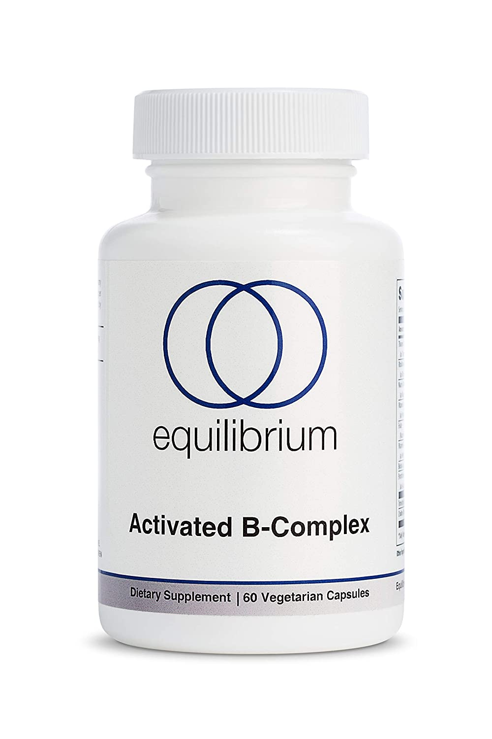 Activated B-Complex with MethylFolate Blend, Containing Active Vitamins to Aid in Energy Production, Nervous System Health, Mood Support, Optimizes Metabolism