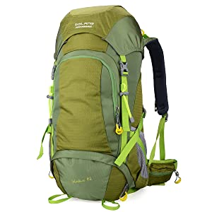 BOLANG Summit 45 Internal Frame Pack Hiking Daypack Outdoor Waterproof Travel Backpacks 8298