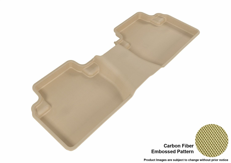 3D MAXpider Complete Set Custom Fit All-Weather Floor Mat for Select Mitsubishi Outlander Models Kagu Rubber L1MT01001501 Gray