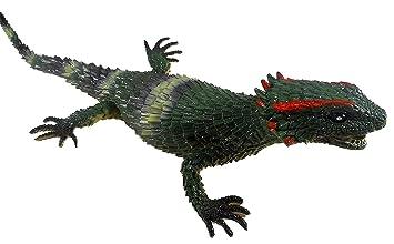1 Meter Dekoration Reptil Echse  Dinosaurier Riesiger Leguan aus Gummi ca