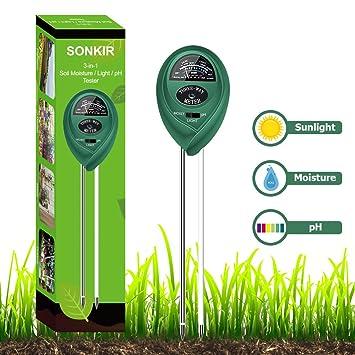 Feuchtigkeit Meter Gerade Boden Hygrometer 3 In 1 Ph Tester Boden Wasser Feuchtigkeit Licht Test Meter Für Garten Pflanze Blume