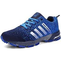 SOLLOMENSI Chaussures de Course Running Compétition Sport Trail Entraînement Homme Femme Cinq Couleurs Basket