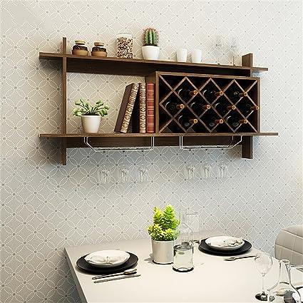 Amazoncom Alus Modern Minimalist European Style Wall Mounted Wine
