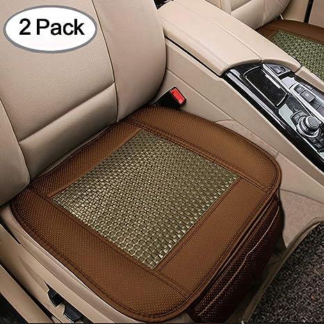 Amazon Com 2pc Car Seat Cushion Breathable Rattan Design Pad Mat