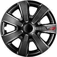 AUTOSTYLE VR Negro 14 Set VR Negro/Carbon Look/Logo