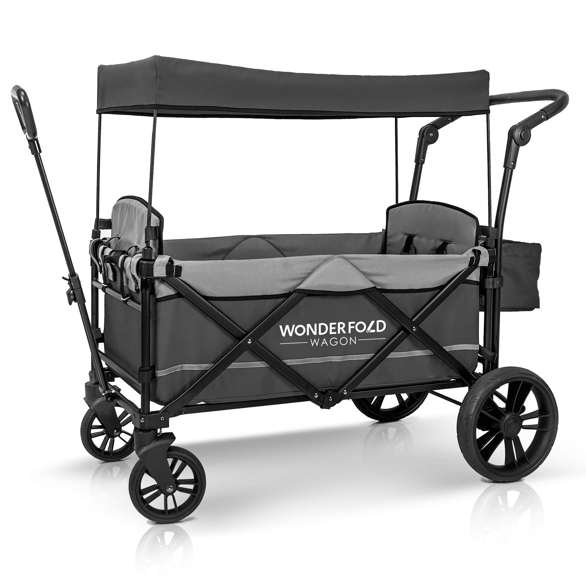 WonderFold Baby 2-Passenger Stroller Wagon, Gray by WonderFold Baby