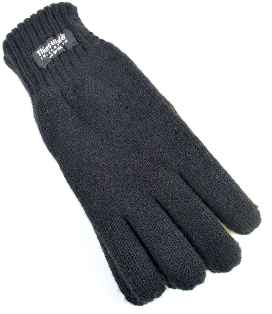laylawson Boys/Girls Childrens - Knitted 40gram 3M Thinsulate Lined Ski Winter Thermal Gloves