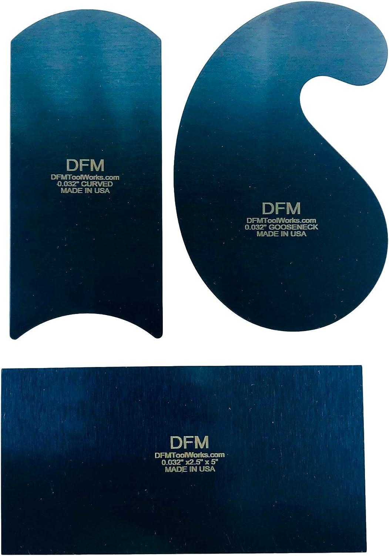 DFM Curved Cabinet Scraper Set