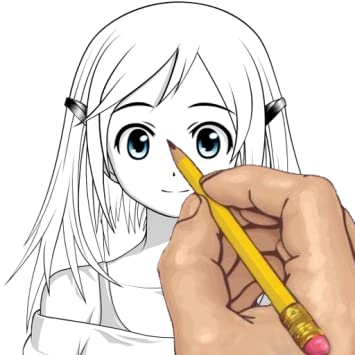 How to Draw Anime Girl Hair for Beginners, 6 Examples! | 355x355