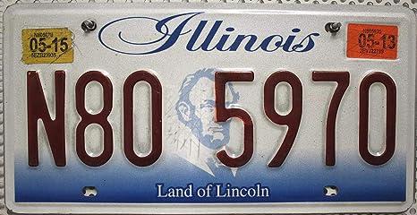 US Nummernschild USA Kennzeichen