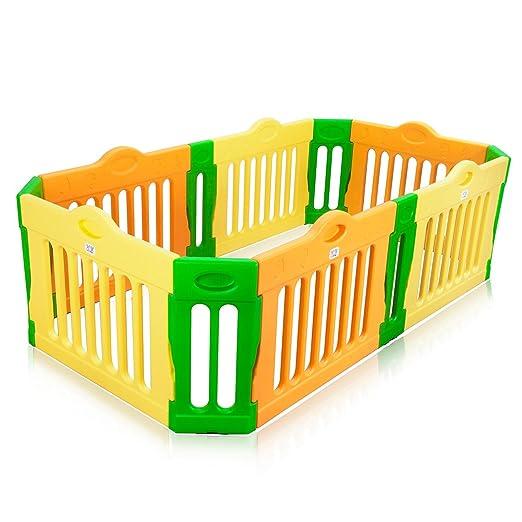 205 opinioni per BABY VIVO Box per Bambini Sicurezza Barriera Pieghevole Recinto Plastica Parte