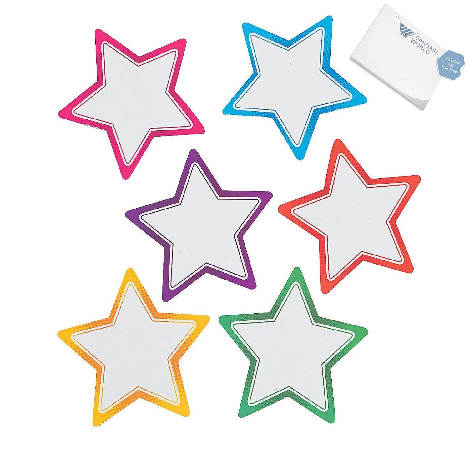 Bargain World Star Dry Erase Magnets (With Sticky Notes)
