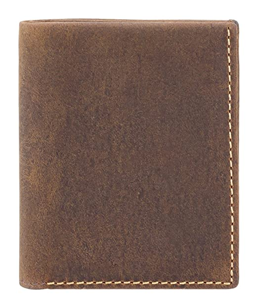 Visconti Slim Collection JAVELIN Leather Wallet With RFID Protection VSL26