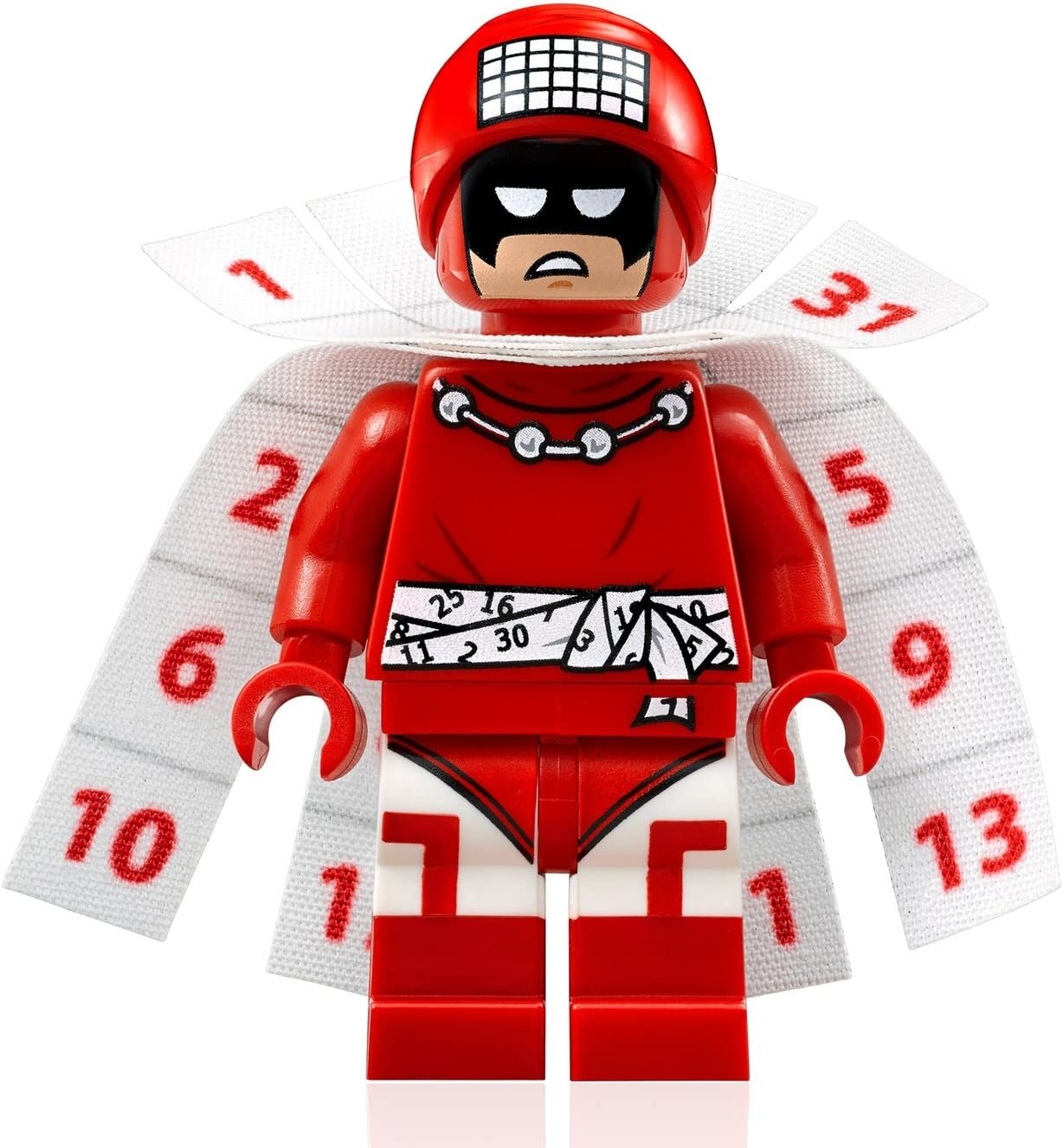 100/% LEGO Calendar Man Minifigure Batman Movie 70903 DC Comics Superhero NEW