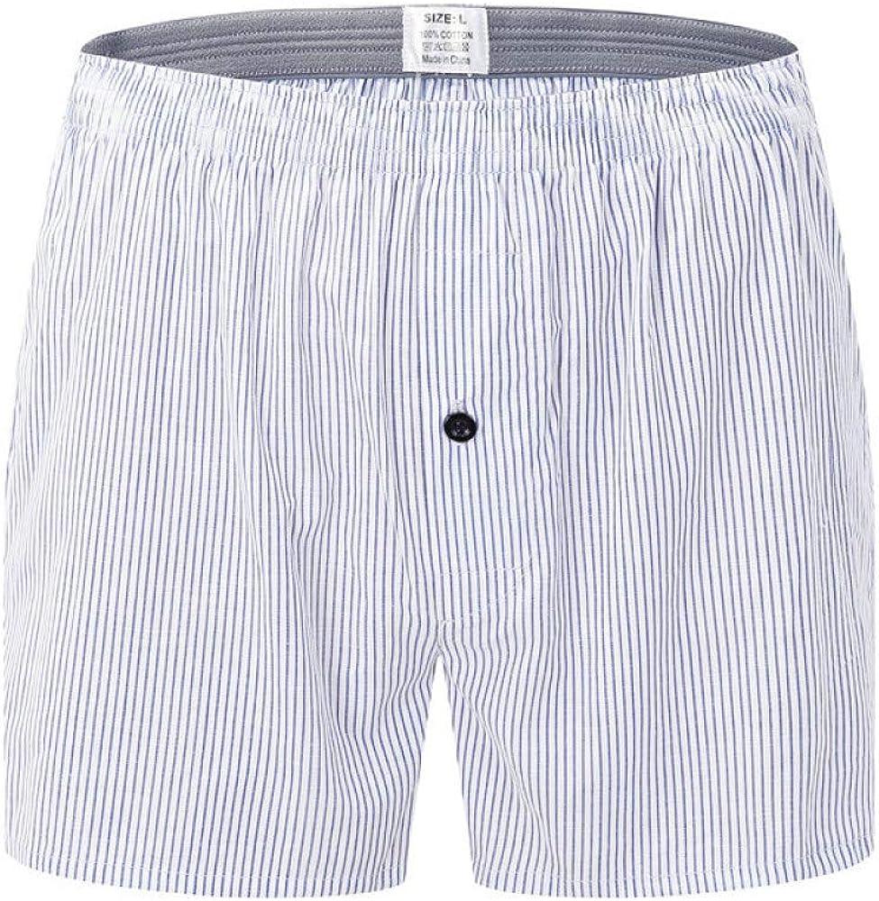 Ropa Interior para Hombres Pantalones caseros algodón Boxer para ...