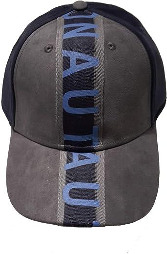Aeronautica Militare Sombrero de béisbol HA1019 90735 Gris-Azul ...
