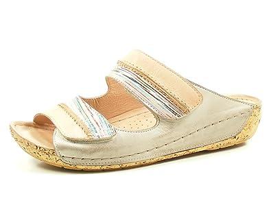 df8c3fefc2 Gemini 032140-29 Schuhe Damen Pantoletten Clogs, Schuhgröße:42, Farbe:Rosa