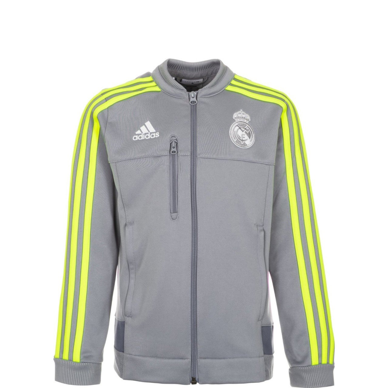 adidas Children's Training Jacket Real Madrid Anthem grey