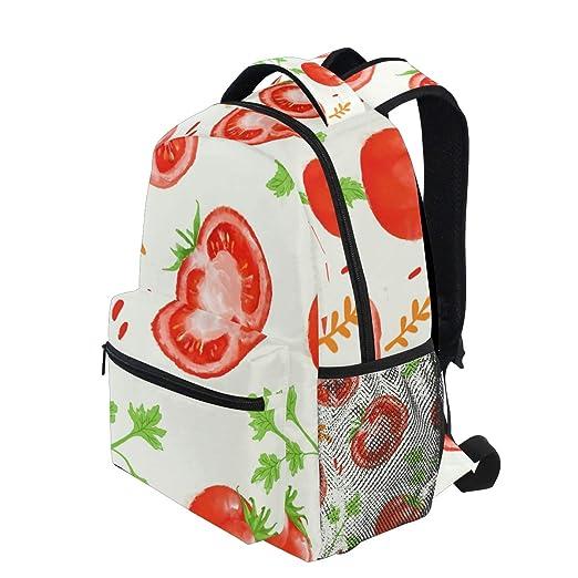 Amazon.com: Mochilas personalizables de diseño de tomate ...
